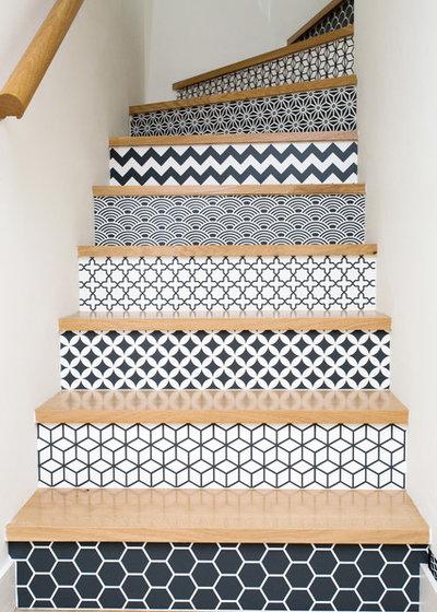 Contemporain Escalier by Caroline Ablain Photographe