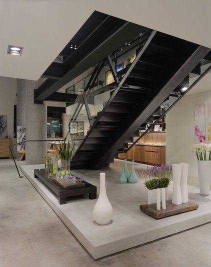 modern staircase by BAAN design