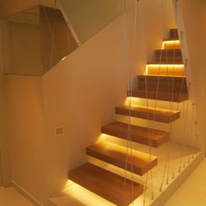 Modern Staircase by Neslihan Pekcan/Pebbledesign