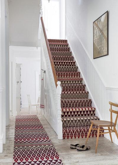 Wow effect 10 idee originali per trasformare gli scalini for Passatoie per scale legno