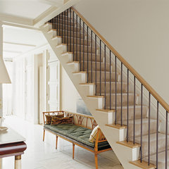 traditional staircase by ABRAMS