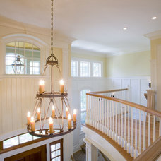 Eclectic Staircase by Buffington Homes South Carolina