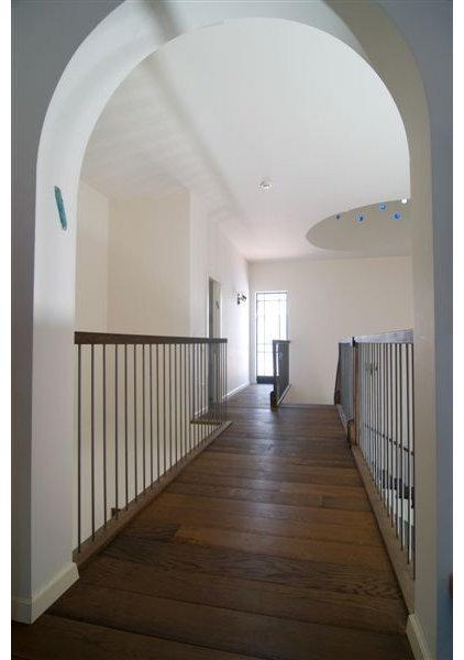 Eclectic Staircase by NURIT GEFFEN-BATIM STUDIO