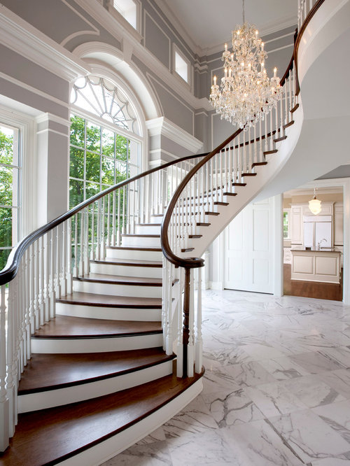 Foyer And Stairs Design : Stair chandelier home design ideas pictures remodel and