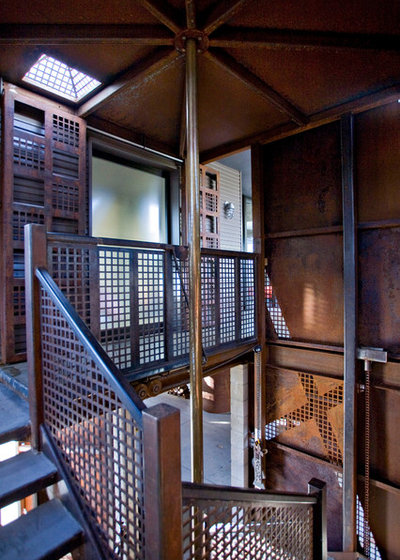 Houzz Tour Steel Fuses Industrial And Modern In A