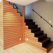 Modern Staircase by Andre Rothblatt Architecture
