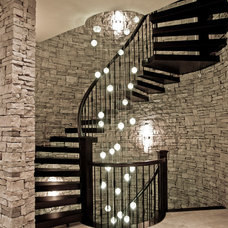 contemporary staircase by Rize Stairs