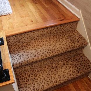 Animal Print Stair Carpet
