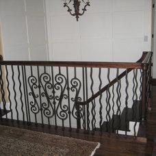 Traditional Staircase Ann Erickson