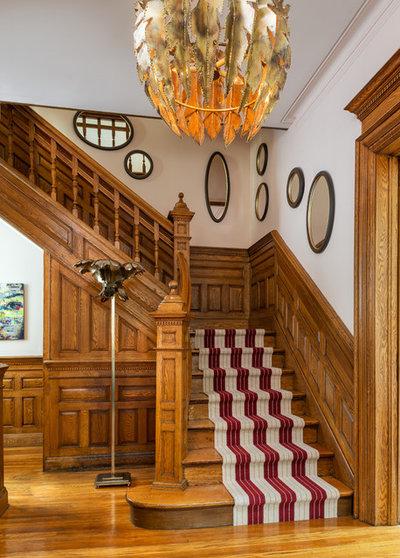 Victorian Staircase by Toronto Interior Design Group | Yanic Simard
