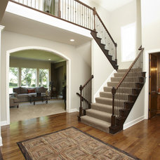 Traditional Staircase by Covenant Custom Homes