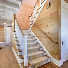 Traditional Staircase by Appalachian Woods