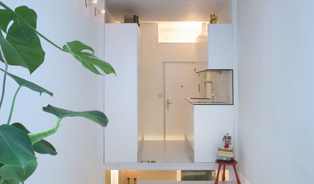 Houzz Tour: A Tiny, Narrow House Gets an Ingenious Makeover
