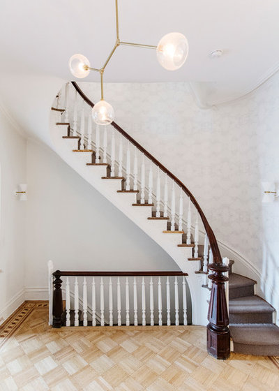 Transitional Staircase by Jiaxin Miao Studio