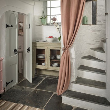 Shabby-chic Style Staircase