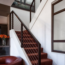 Contemporary Staircase by Christopher Stark Photography