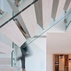 Modern Staircase by Gerstner