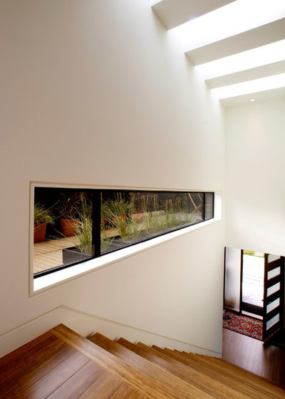 These windows let in light at floor height for Window height from floor