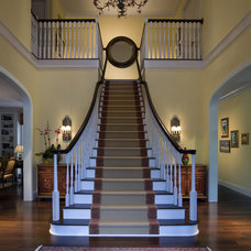 Traditional Staircase by Craig Denis