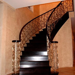 Inspiration for a timeless staircase remodel in New York