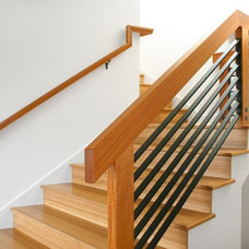 Modern Staircase by The Last Inch