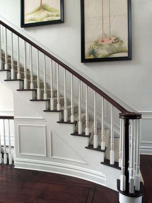 Stair Wainscoting Home Design Ideas, Pictures, Remodel and ...
