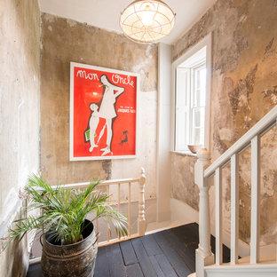 Ejemplo de escalera romántica de tamaño medio