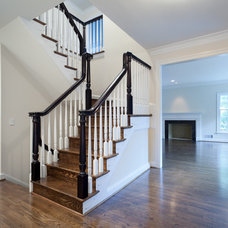 Traditional Staircase by Superior Home Services Inc