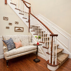 Traditional Staircase by Valerie Lavine Design