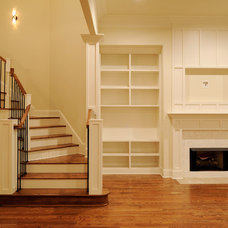 Traditional Staircase by Arnold Homes LLC