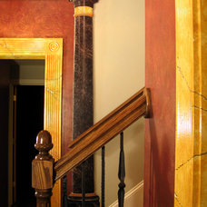 Traditional Staircase by Visionary Mural Co.