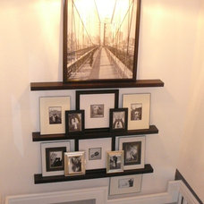 Eclectic Staircase by FOCAL POINT STYLING