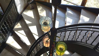Art Glass Chandelier