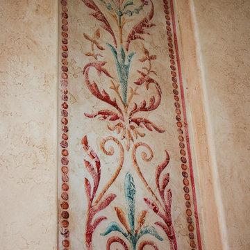 Artistic Stairwell Niche