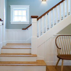 Craftsman Staircase by Jan Gleysteen Architects, Inc