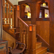 Traditional Staircase by Copper Sky Renovations