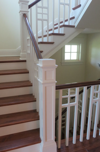 Craftsman Staircase by George Clemens Architecture, INC