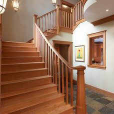 Craftsman Staircase by Richard Leggin Architects