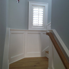 Traditional Staircase by ASAP Blinds