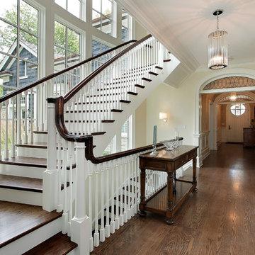 Ash Nantucket staircase