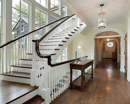 Staircase Window Curtains Houzz