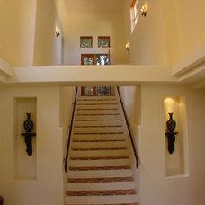 Mediterranean Staircase by Ashford Associates