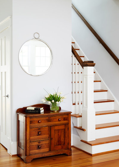 Transitional Staircase by WINN Design+Build