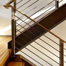 Modern Staircase by Carney Logan Burke Architects