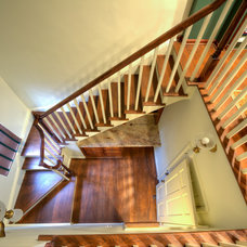 Traditional Staircase by Rendon Remodeling & Design, LLC