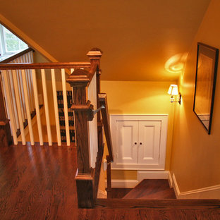 Inspiration for a timeless staircase remodel in Boston