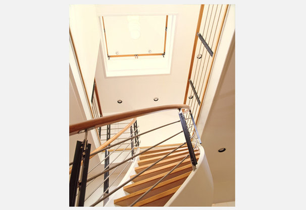Modern Staircase by Audrey Matlock Architects