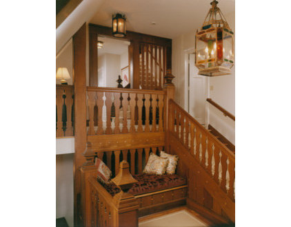 traditional staircase by Austin Patterson Disston Architects