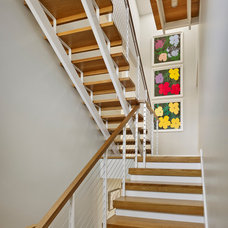 Beach Style Staircase by McCoubrey/Overholser, Inc.