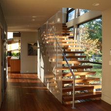 Modern Staircase by Robert J. Neylan Architects, Ltd.